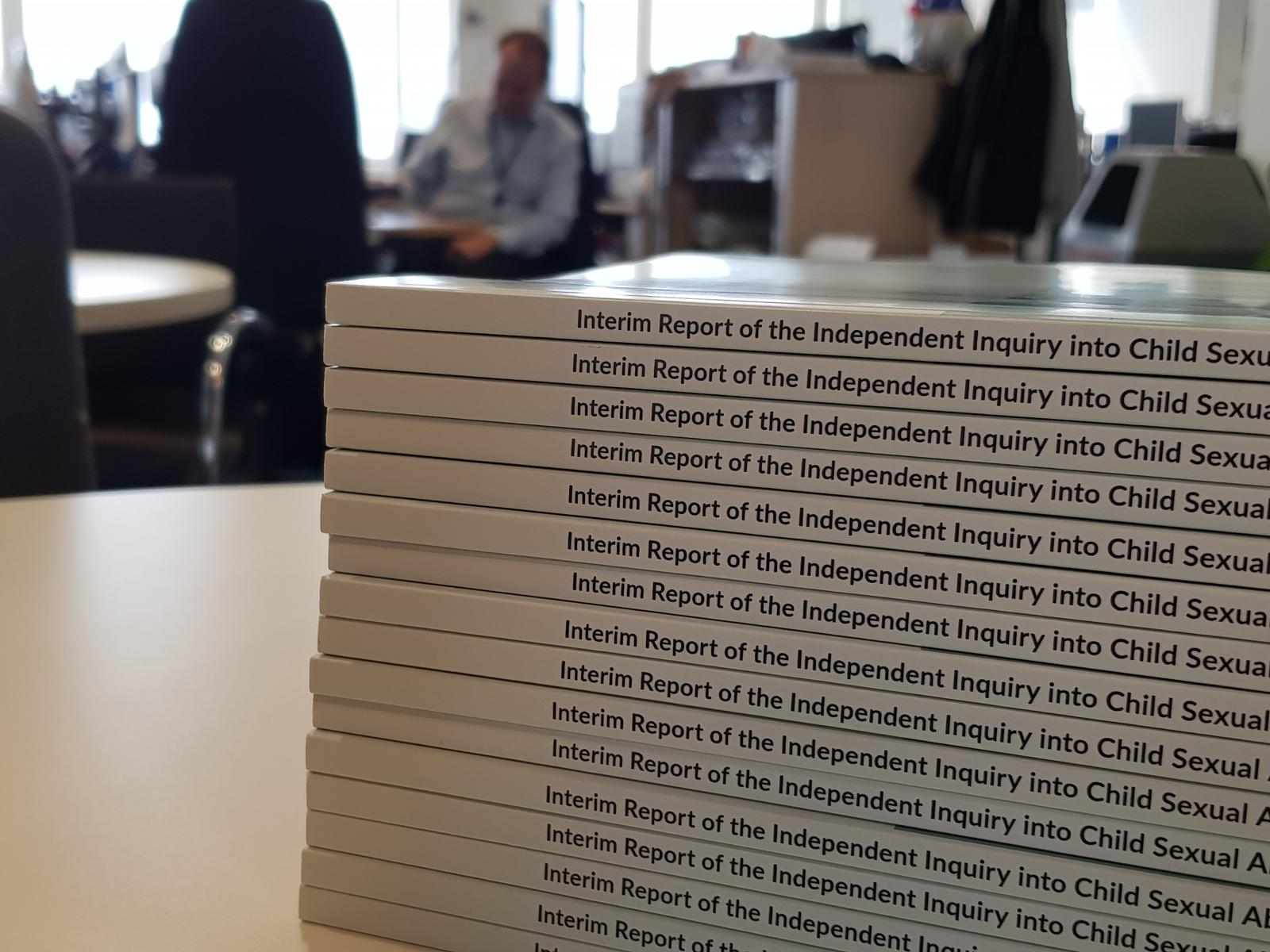 Interim Report of the Independent Inquiry into Child Sexual Abuse cover - image 2