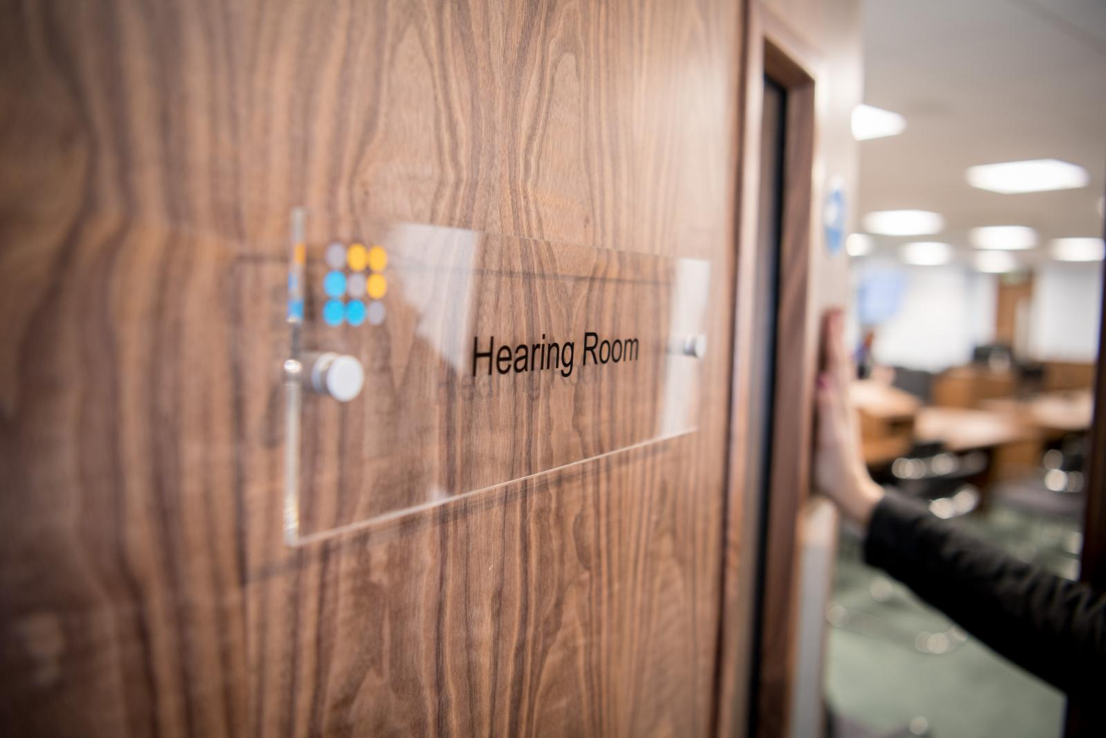 Public Hearings - Hearing Room