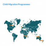 Child Migrations Programme Investigation Report - map 1