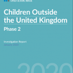 Children Outside the UK Phase Two - report cover