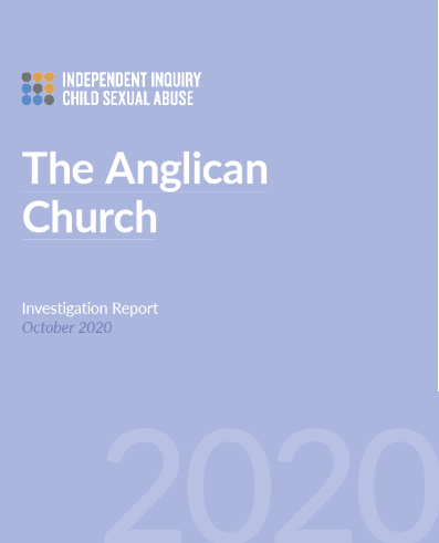 IICSA Report Anglican Church